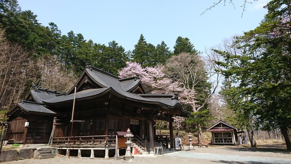義經神社/北海道平取町